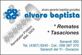 Alvaro Baptista Rematador